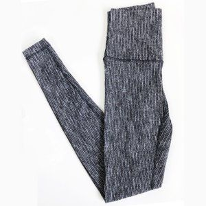 Lululemon Wunder Under Pant (Roll Down) Coco Pique